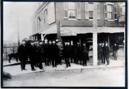 Group of Men on Election Day, 1897